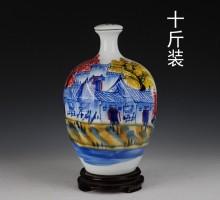 10斤陶瓷酒瓶 可定做